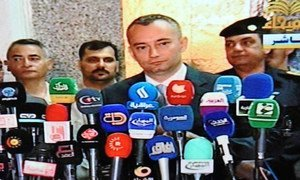 Special Representative and head of the UN Assistance Mission for Iraq (UNAMI) Nickolay Mladenov.