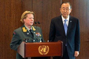 La General de División noruega Kristin Lund, dirigirá la fuerza de Naciones Unidas en Chipre  Foto: ONU/Mark Garten