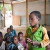 Escolares en la República Centroafricana  Foto:UNICEF/Catianne Tijerina