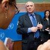 El representante especial del Secretario General de la ONU para el África Occidental, Said Djinnit   Foto:  ONU/Jean-Marc Ferré