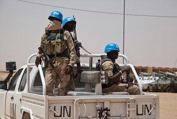 Des casques bleus en patrouille à Kidal, au Mali. (archive) Photo MINUSMA/Blagoje Grujic