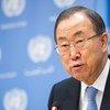 El Secretario General de la ONU, Ban Ki-moon  Foto.  ONU/Mark Garten