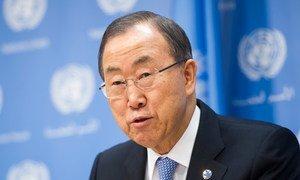 Secretary General Ban Ki-moon.
