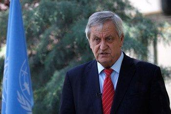 Le Représentant spécial adjoint du Secrétaire général en Afghanistan, Nicholas Haysom.