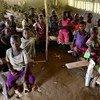 Une école dans la ville de Kolula dans le Sud-Kivu en RDC. Photo ONU/OCHA