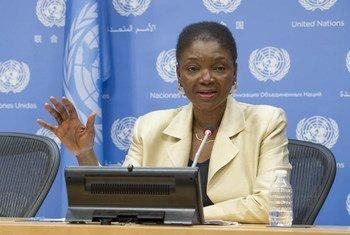 La Secrétaire générale adjointe aux affaires humanitaires, Valerie Amos. Photo ONU