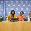 Artistas participantes en el concierto en la ONU para promover los Objetivos de Desarrollo post2015  Foto. ONU/Eskinder Debebe