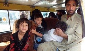 Civilians begin to flee new offensive against militants in Pakistan.