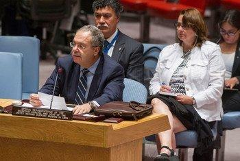 El representante de la ONU en Libia y jefe de la UNSMIL, Tarek Mitri  Foto. ONU/Eskinder Debebe