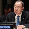 El Secretario General de la ONU, Ban Ki-moon  Foto archivo;ONU/Evan Schneider