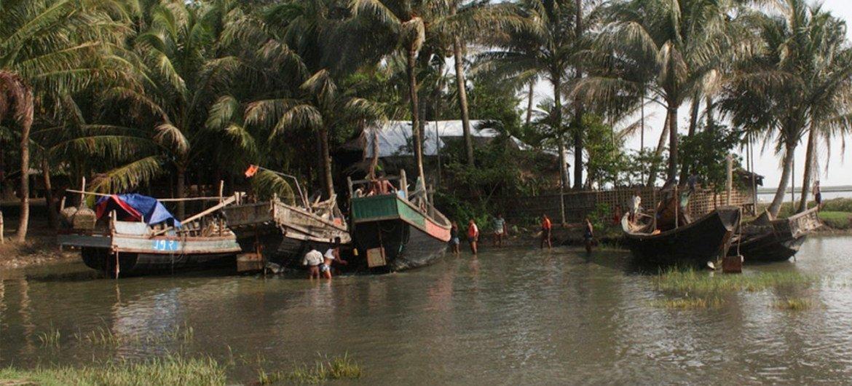 Estado de Rakhine, en Myanmar. Foto: ACNUR/V.Tan