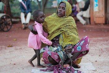 Desplazados por el conflicto en la República Centroafricana  Foto: IRIN/Otto Bakano