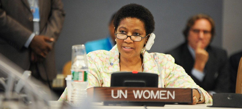 UN Women Executive Director Phumzile Mlambo-Ngcuka.