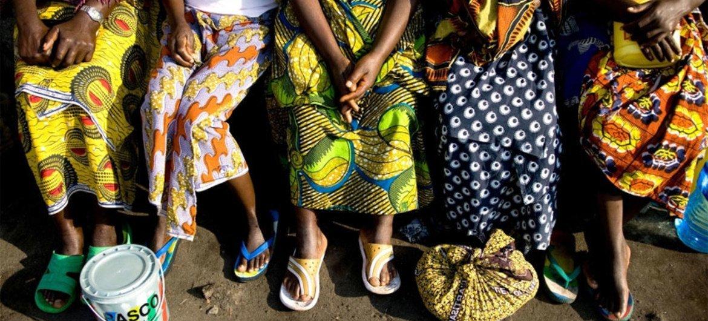 Women in Kenya.