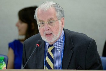 Paulo Pinheiro, presidente de la Comisión Internacional de Investigación sobre Siria  Foto:ONU/Jean-Marc Ferré