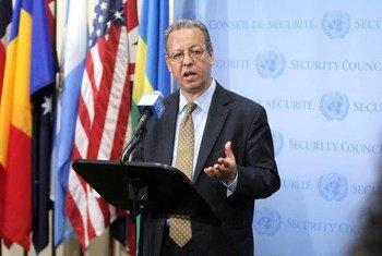 Le Conseiller spécial du Secrétaire général sur le Yémen, Jamal Benomar. Photo ONU/Devra Berkowitz