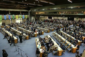 The UN Environment Assembly gets underway in Nairobi, Kenya.