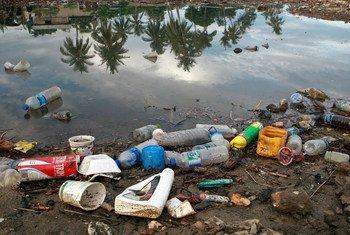 Desperdicios plásticos en Timor-Leste