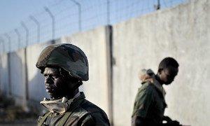 Des troupes ougandaises faisant partie de la Mission de l'Union africaine en Somalie (AMISOM). Archives