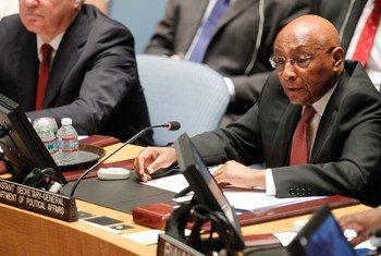 Le Sous Secrétaire général aux affaires politiques, Tayé-Brook Zerihoun. Photo PNU/Paulo Filgueiras