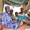 Mujeres desplazadas por el conflicto en la República Centroafricana  Foto:  OCHA