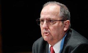 Le Rapporteur spécial de l'ONU sur la torture, Juan Mendez. (Archives). Photo ONU /Rick Bajornas