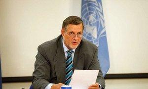 Jan Kubis, Représentant spécial du Secrétaire général pour l'Afghanistan. Photo MANUA/Fardin Waezi