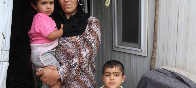 Mujer siria en Iraq, desplazada por el conflicto en su país  Foto: ACNUR/Robinson