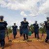 دائرة الأمم المتحدة للإجراءات المتعلقة بالألغام (UNMAS) بتنفيذ عمليات إزالة الألغام الآلية واليدوية في توريت ، بجنوب السودان