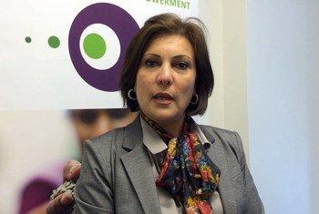 La abogada y defensora de los derechos humanos Salwa Bugaighis, asesinada en Libia  Foto archivo:ONU