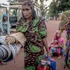 These women from Central African Republic are among the hundreds of thousands displaced by the conflict in the country.