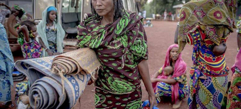 Desplazados por el conflicto en la República Centroafricana  Foto ACNUR/F.Noy
