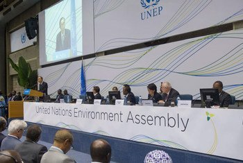 Secretary-Gener attends Closing Ceremony of the United Nations Environment Assembly.