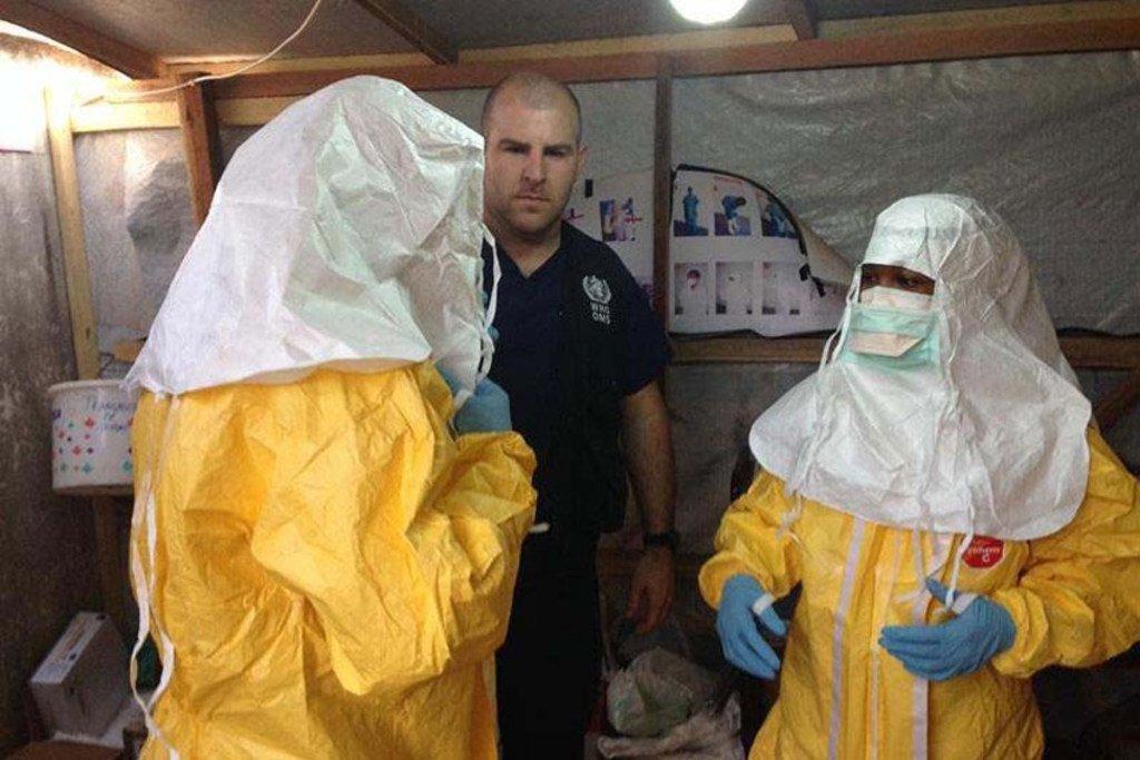 Uchunguzi wa ebola.