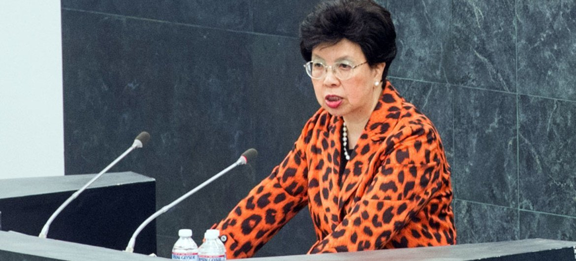 Margaret Chan, Director-General of the World Health Organization (WHO).