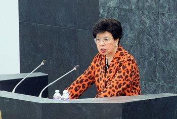 La directora general de la Organización Mundial de la Salud (OMS), Margaret Chan  Foto. ONU