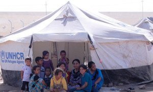 Khazir camp for Internally Displaced Persons, Iraq.