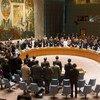Минута молчания в Совете Безопасности ООН в память о жертвах крушения MH17. 18 июля 2014 года.
