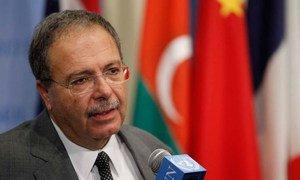 Tarek Mitri, Special Representative and Head of the UN Support Mission in Libya -UNSMIL (file). UN/Paulo Filgueiras
