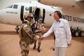 Le Représentant de l'ONU au Mali et chef de la MINUSMA, Bert Koenders.