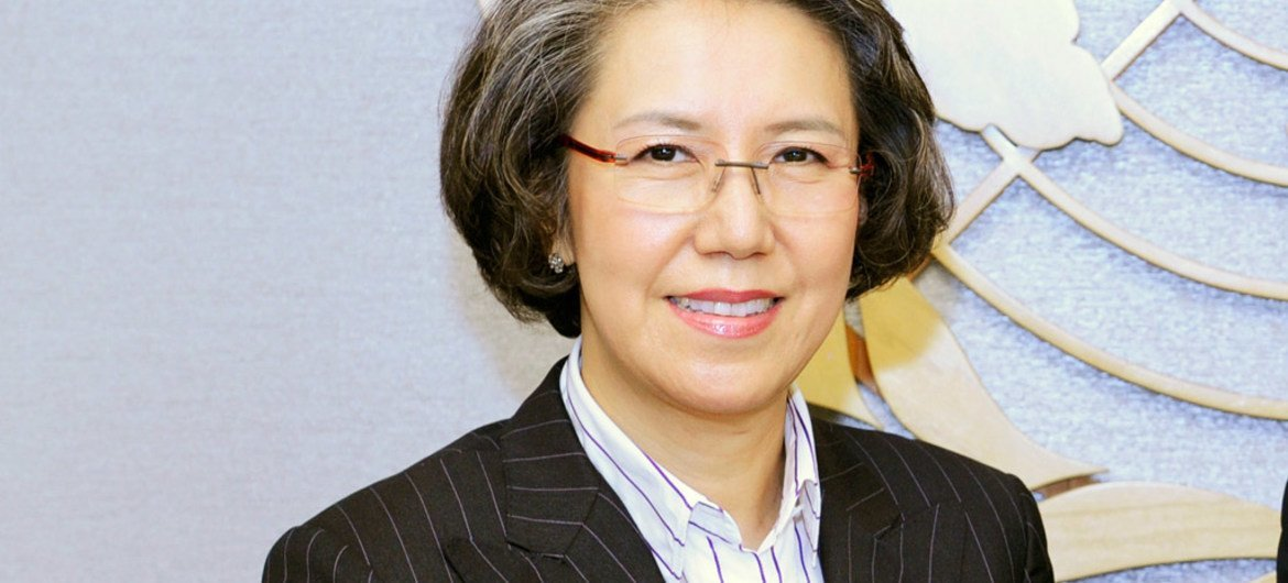 Special Rapporteur on the situation of human rights in Myanmar Yanghee Lee.