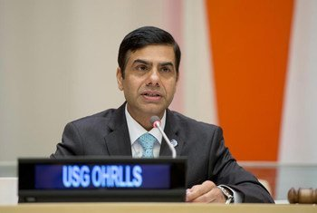 UN High Representative for the Least Developed Countries, Landlocked Developing Countries and Small Island Developing States Gyan Chandra Acharya.