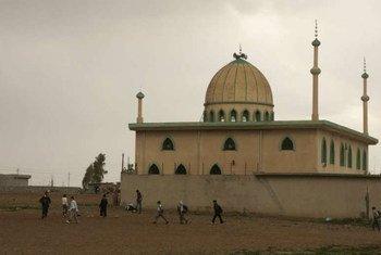 Une mosquée dans le nord de l'Iraq. Photo HCR/K. Brooks