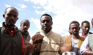 These Eritreans and Somalis in Benghazi, Libya, told UNHCR about their concerns. Many wished to go to Europe.