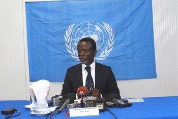 El representante especial interino del Secretario General de la ONU para la República Centroafricana y jefe de la MINUSCA Parfait Onanga-Anyanga Foto archivo: ONU