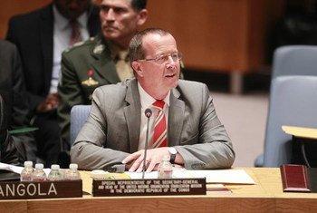Special Representative in the Democratic Republic of Congo (DRC) Martin Kobler briefs the Security Council.
