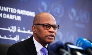 Special Representative and head of the African Union and UN Mission in Darfur (UNAMID) Mohamed Ibn Chambas.