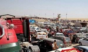 The Khazair checkpoint between Iraq and the semi-autonomous Kurdistan region has seen hundreds of thousands of internally displaced people (IDPs) cross into Kurdistan following the takeover of large swathes of Iraq by the Islamic State of Iraq and the Levant (ISIS).