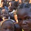 Niños en una escuela en Batangafo, República Centroafricana. Foto: OCHA/L. Paletta