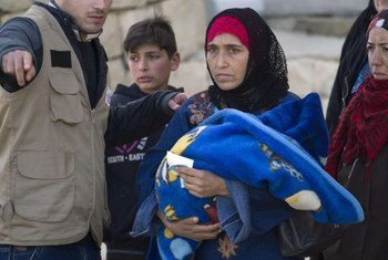 Familia siria refugiada en Líbano  Foto de archivo: ACNUR/M. Hofer